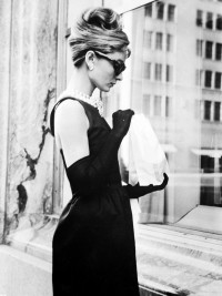 Audrey Hepburn, Breakfast At Tiffany's, Little Black Dress, Maxi-Dress.jpg